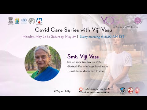 114 Gentle Movements For Recovery- Class 1by Smt.Viji Vasu |Yoga For Unity & Well Being|Heartfulness