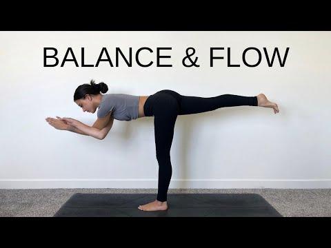 Intermediate Vinyasa Yoga Class   35 Min – Balance & Flow