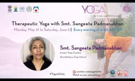 126-Yoga For Weight Loss Class2 By Smt. Sangeeta Padmanabhan|Yoga For Unity&Well-being| Heartfulness