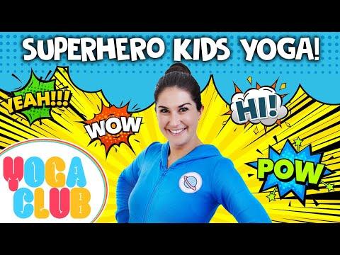 Superhero Kids Yoga 💥  Yoga Club (Week 49) | Cosmic Kids Yoga