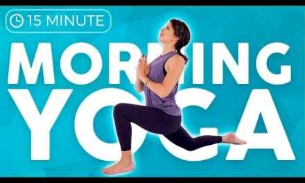 15 Min Full Body Morning Yoga Flow ☀�FEEL GREAT