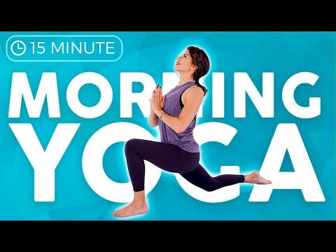 15 Min Full Body Morning Yoga Flow ☀️FEEL GREAT