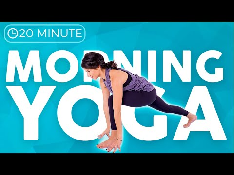 20 Minute Full Body MOBILITY Morning Yoga 💙FEEL GOOD
