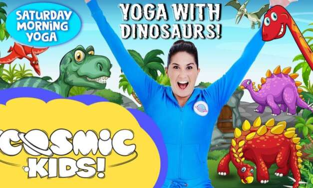 Kids Yoga With Dinosaurs!
