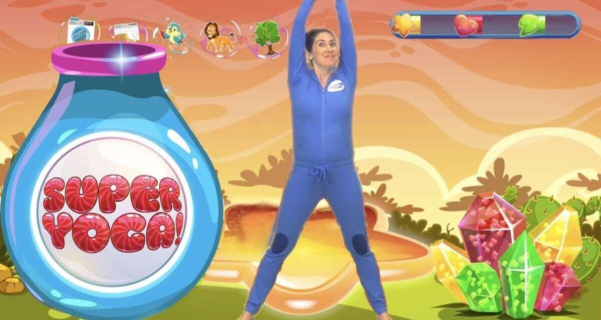 SUPER YOGA! – Stretch Safari | Fun Workout For Kids