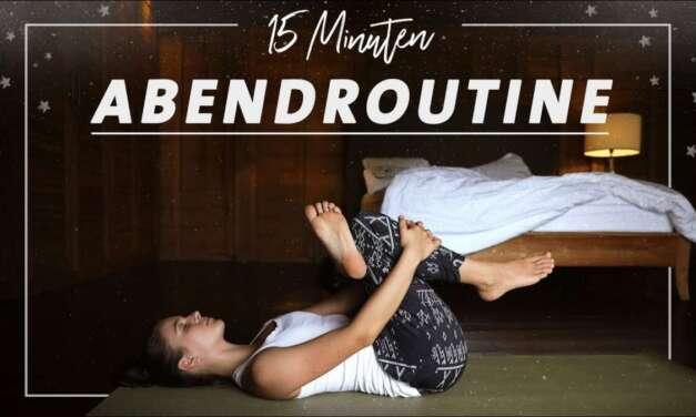 Yoga Abendroutine Für Anfänger | Entspannung & Ruhe Für Die Nacht | Besser Einschlafen