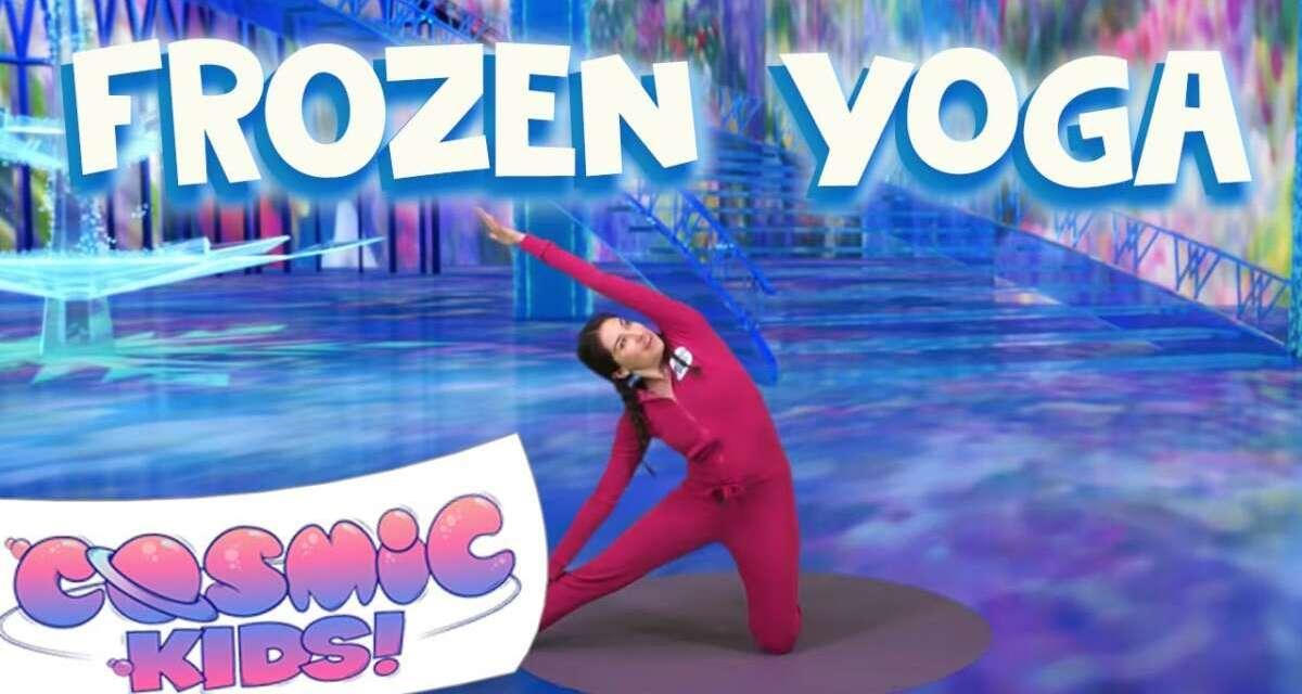 Frozen   A Cosmic Kids Yoga Adventure!