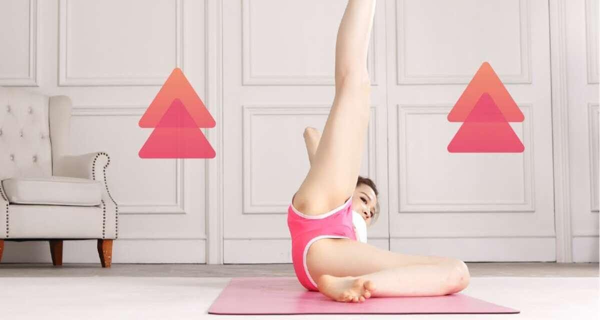 4分鐘Yoga  美腿訓練  Abs Workout Challenge Hip Dips