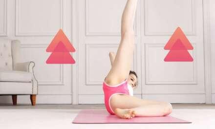 4分鐘Yoga |美腿訓練| Abs Workout Challenge|Hip Dips