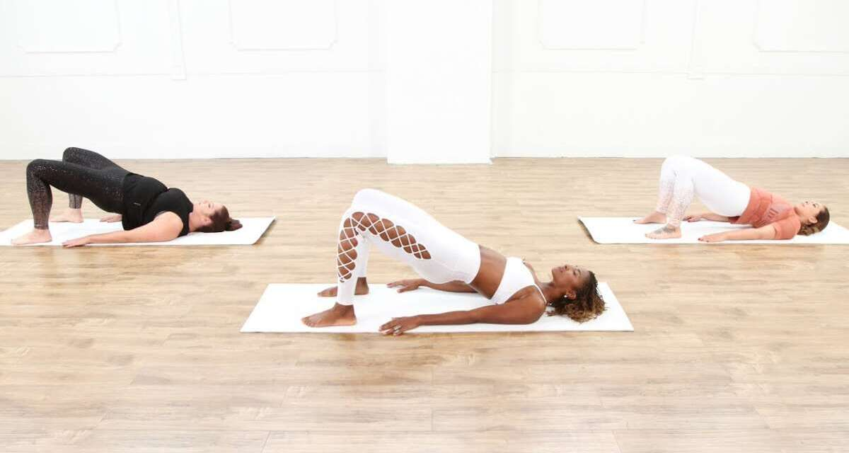 30-Minute Restorative Yoga Session With Koya Webb