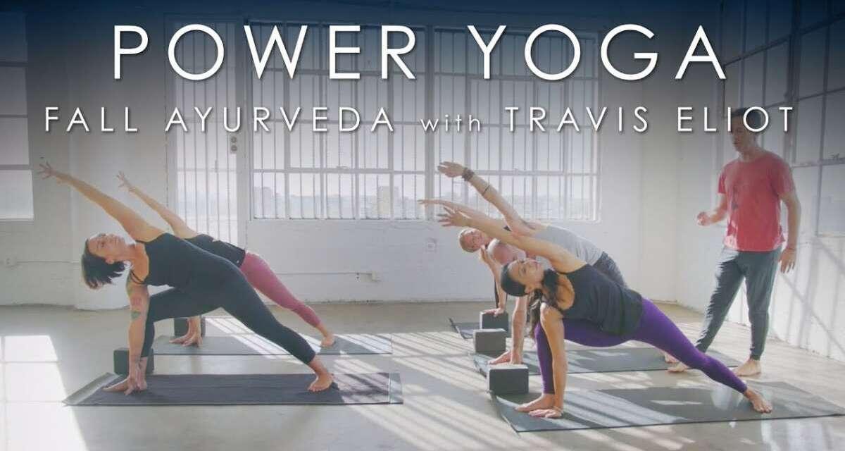 "FULL Power Yoga ""Fall Ayurveda"" (60min) With Travis Eliot"