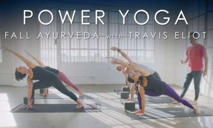 "FULL Power Yoga ""Fall Ayurveda"" (60min) With Travis Eliot"