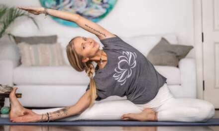10 Min Deep Yoga Stretch | Calming Yoga For Uncertain Times