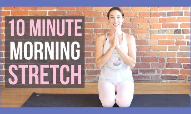 10 Min Morning Yoga Stretch To Wake Up – ALL LEVELS NO PROPS