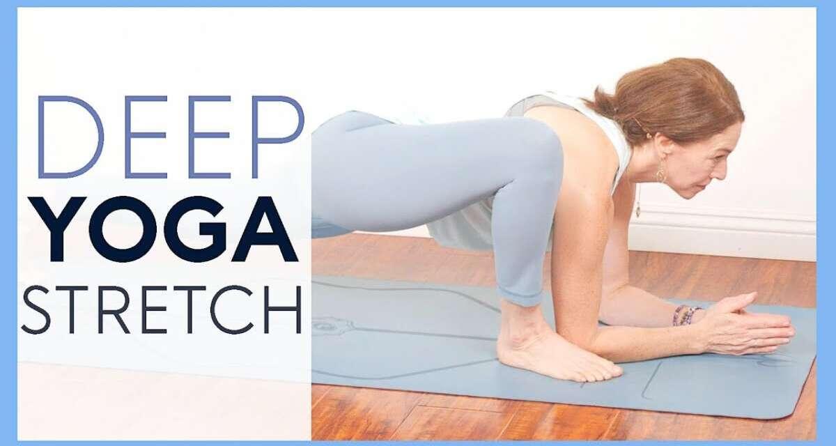 Full Body Yoga Stretch For Flexibility