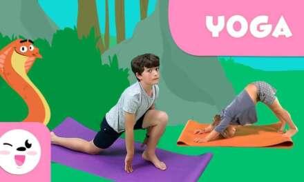 YOGA para niños | El saludo al Sol y Yoga con animales | Recopilación