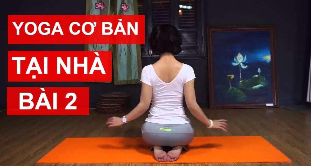 Yoga Cơ Bản Tại Nhà – Bài 2: Gia Tăng Sức Mạnh Cho Cơ Bắp Và Các Khớp Xương Cùng Nguyễn Hiếu Yoga