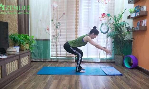 Bài Tập Yoga Trị đau Mỏi Vai Gáy Cho Dân Văn Phòng _ Yoga Nguyễn Hiếu