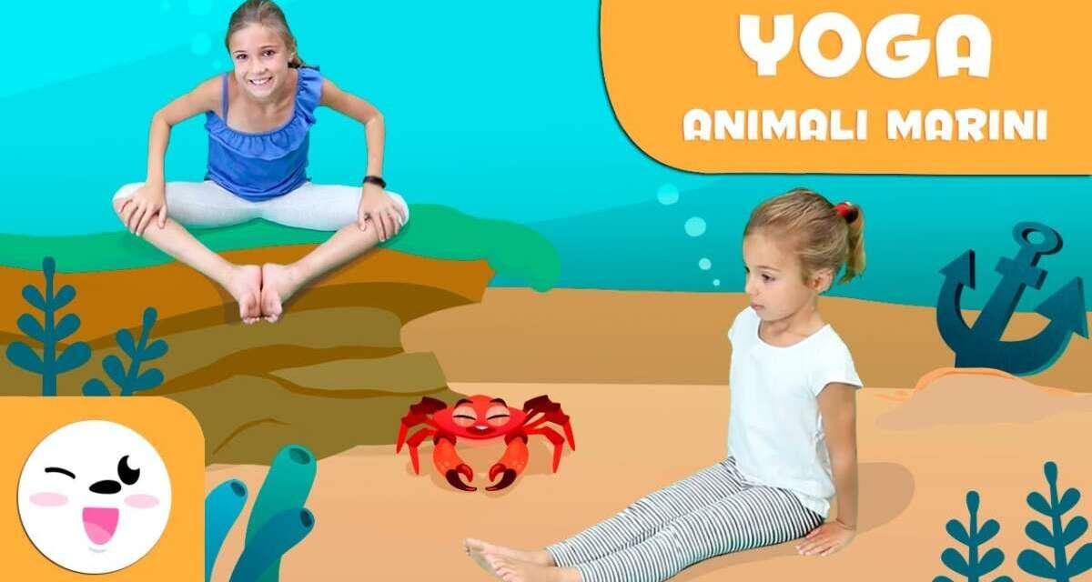 Yoga Per Bambini – Posizioni Yoga Con Gli Animali Marini – Tutorial Delle Posizioni Di Yoga