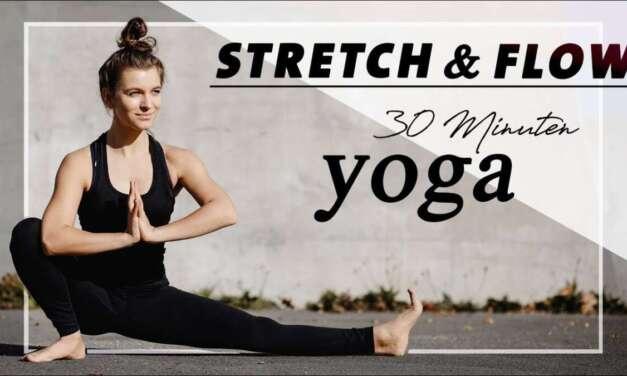 Yoga Für Beweglichkeit | Stretch & Flow | Tiefe Dehnungen Und Neue Haltungen | Mittelstufe
