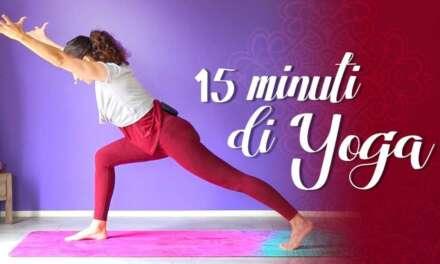 15 Minuti Di Yoga