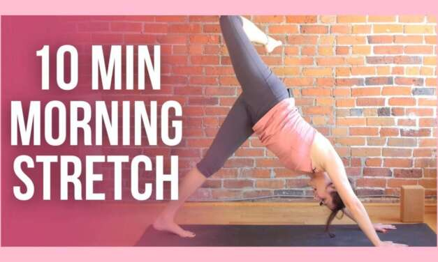 10 Min Morning Yoga Stretch – ENERGIZE Your Day!