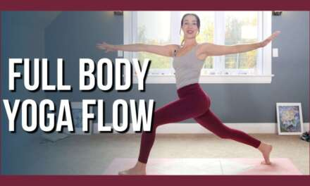 30 Min Intermediate Full Body Yoga – Vinyasa Yoga NO PROPS