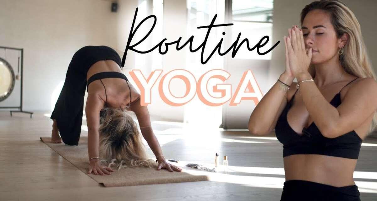 Routine Yoga Du Matin (10 Minutes)
