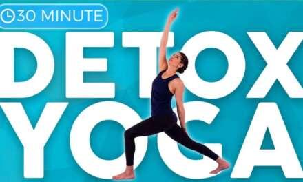 30 Minute Full Body Yoga Flow For Detox & Digestion | Sarah Beth Yoga