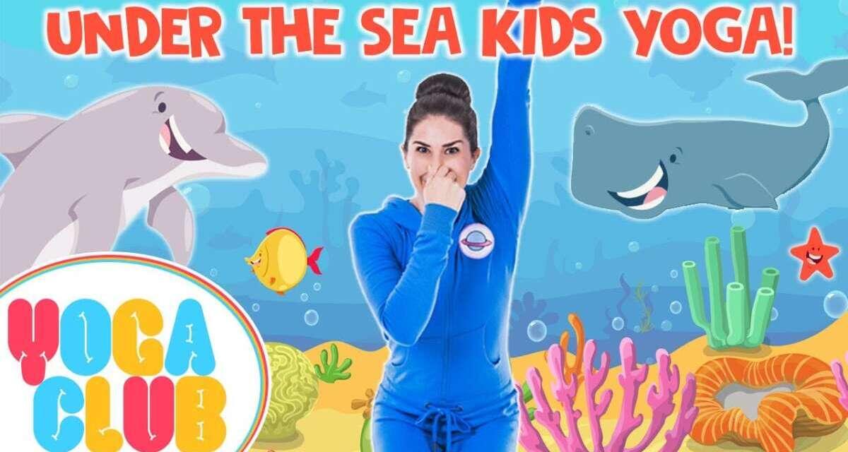 Under The Sea 🐬 Yoga Club (Week 19) | Cosmic Kids