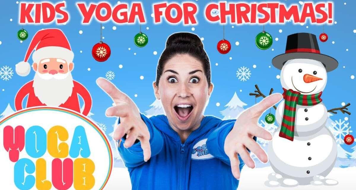 Kids Yoga For Christmas 🎄 Yoga Club (Week 20) | Cosmic Kids