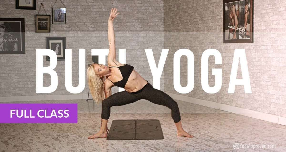 BUTI YOGA With Bizzie Gold – Abdominal Activation + Spiral Structure Technique (Full Class)