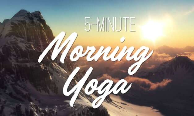 5-Minute Morning Yoga – Yoga With Adriene