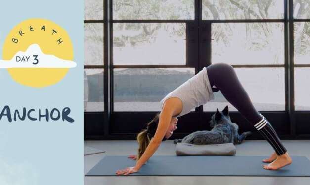 Day 3 – Anchor | BREATH – A 30 Day Yoga Journey