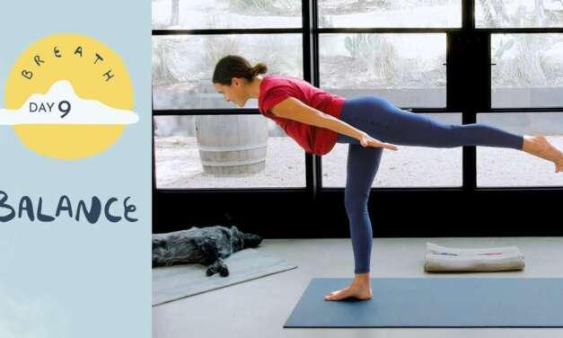 Day 9 – Balance |  BREATH – A 30 Day Yoga Journey
