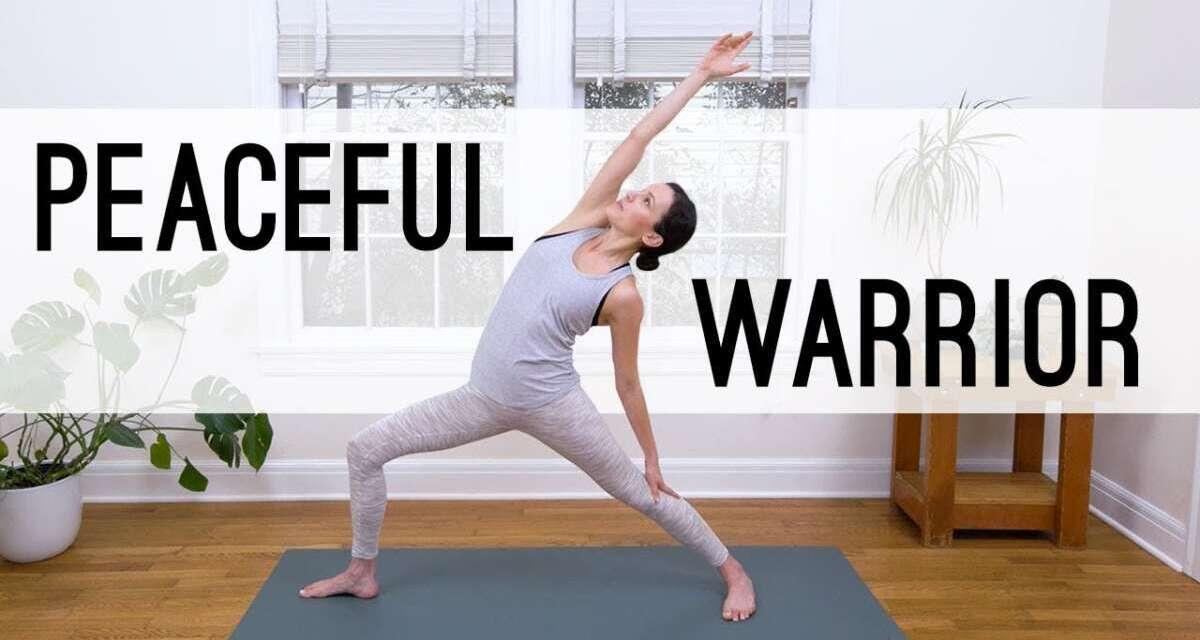 Peaceful Warrior Yoga |  Yoga With Adriene