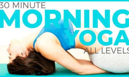 30 Minute Mindful Morning Yoga For All Levels   Sarah Beth Yoga