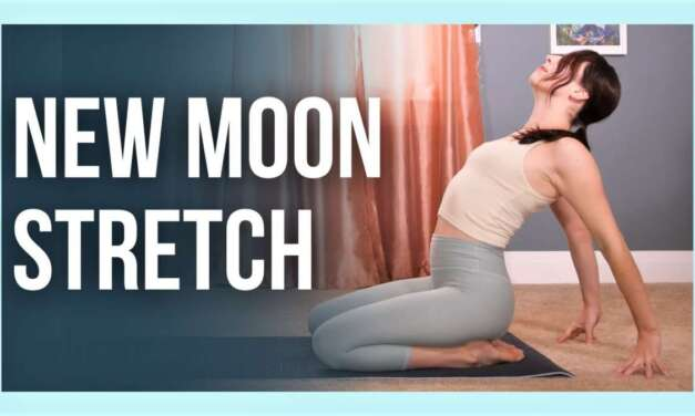 New Moon Yoga – Slow Flow Stretch To Set Intentions