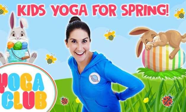 Spring & Easter Yoga For Kids 💐🐰 Yoga Club (Week 30) | Cosmic Kids