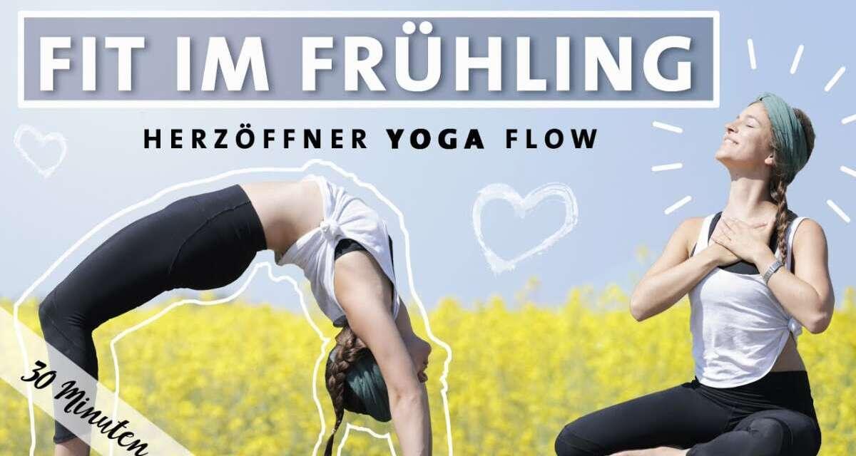 Yoga Vinyasa Flow | Fit Im Frühling | Happy Herzöffner