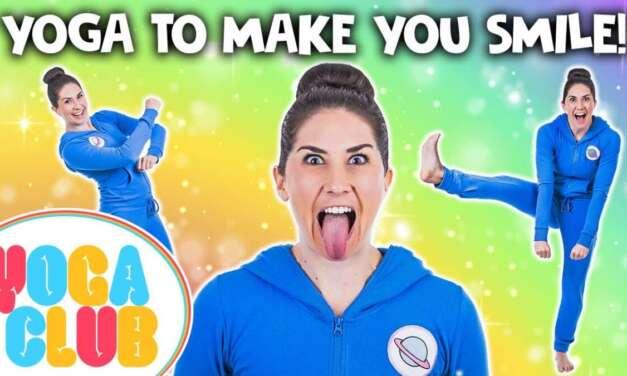Yoga To Make You Smile 😁 Yoga Club (Week 31) | Cosmic Kids