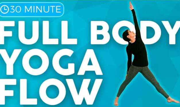 30 Minute Flexibility Yoga Flow & Stretch 💙 BREATHE Into Your Muscles   Sarah Beth Yoga