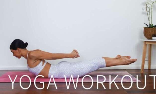 25 MIN YOGA PILATES WORKOUT    Full Body Stretch & Strengthen