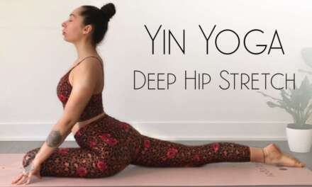 Yin Yoga Hip Stretches For Better Sleep & Tension Release