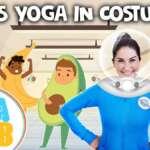 Kids Yoga In Costume! Dress Up! 👑🎩⛑ | Yoga Club (Week 31) | Cosmic Kids