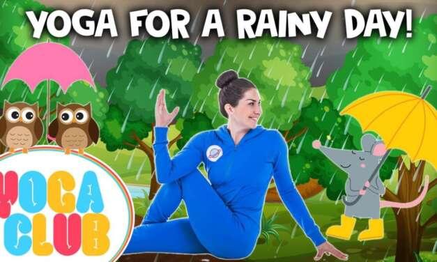 Kids Yoga For A Rainy Day 🌂  | Yoga Club (Week 33) | Cosmic Kids Yoga