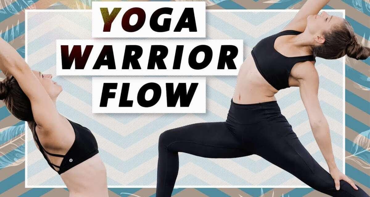 Yoga Power Flow | Bauch Beine Po | Effektiv & Intensiv