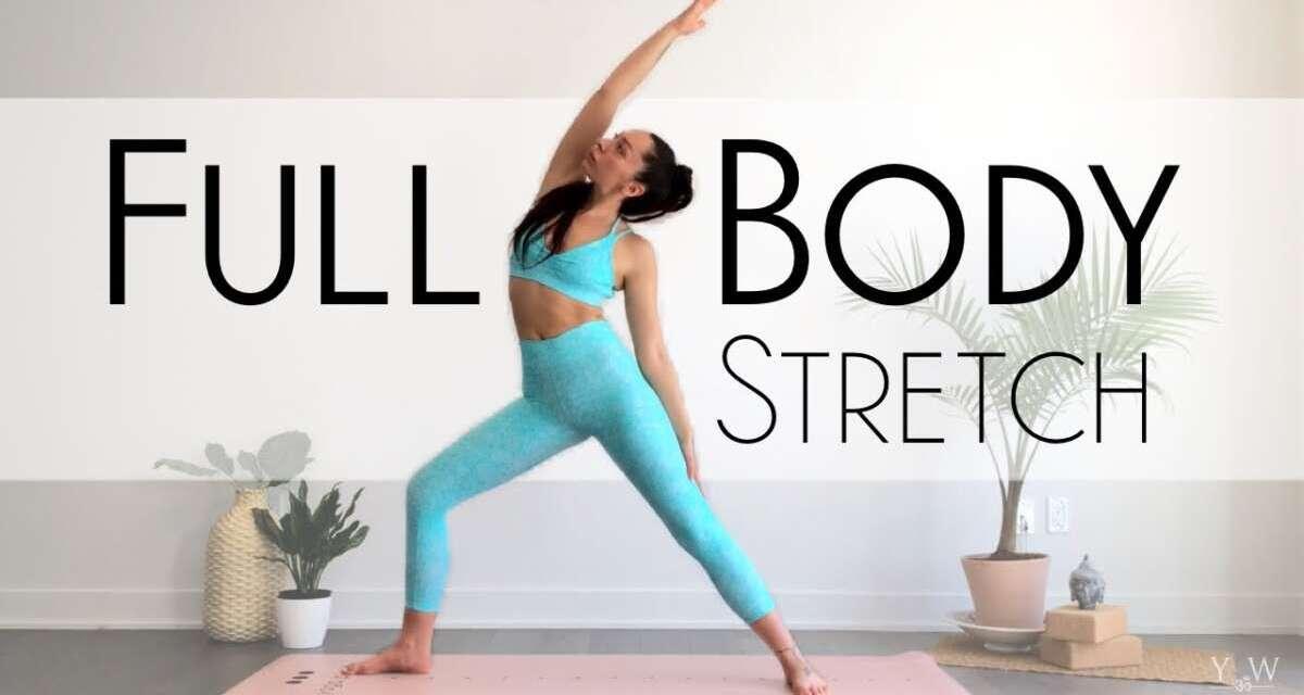 10 Min MORNING YOGA Full Body STRETCH & Flow – Intermediate Yoga