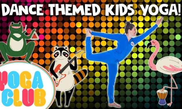 Yoga For Kids That Love To Dance! ✨ Yoga Club (Week 34) | Cosmic Kids Yoga
