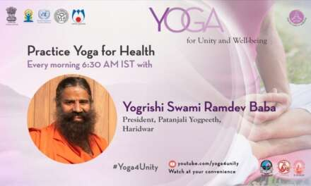 38- Common Yoga For All Part – 2 With Yogrishi Swami Ramdev Baba | Heartfulness Meditation
